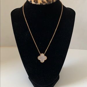 Iconic faux necklace